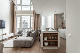 60平米一居室日式风格客厅图片