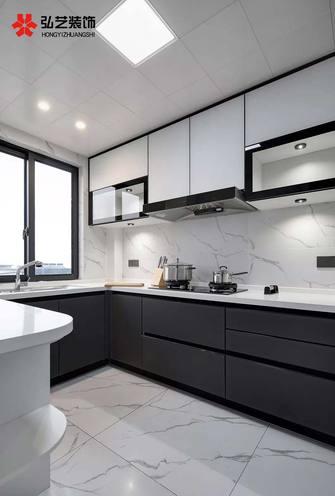 120平米三室两厅新古典风格厨房装修案例