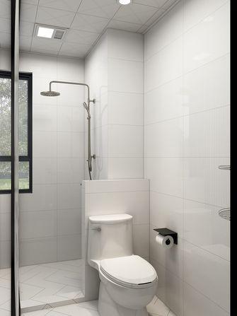 60平米日式风格卫生间设计图