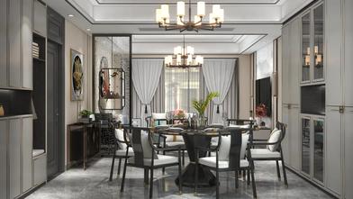 豪华型130平米三室一厅中式风格餐厅图片大全