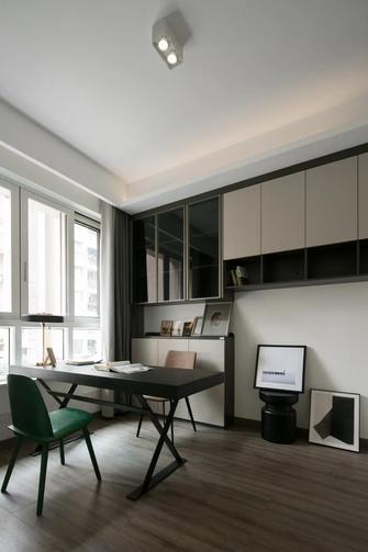 经济型120平米四室两厅新古典风格书房图片