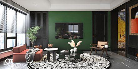 3-5万140平米三室一厅新古典风格客厅设计图