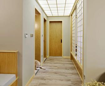 经济型100平米三现代简约风格走廊装修案例