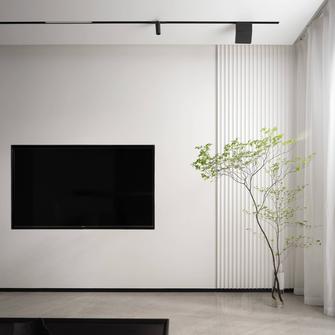 富裕型110平米三室一厅现代简约风格客厅效果图