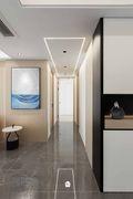 15-20万140平米三室一厅现代简约风格玄关图片