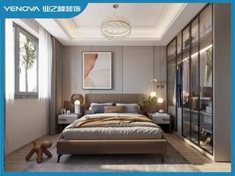 富裕型130平米三室两厅美式风格卧室装修效果图