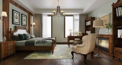 20万以上140平米别墅美式风格卧室装修案例