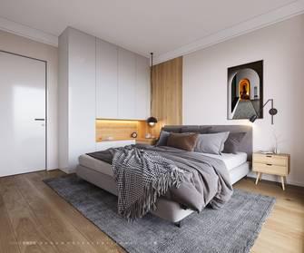 富裕型70平米一室两厅北欧风格卧室图片