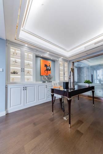 豪华型130平米三室两厅法式风格书房设计图