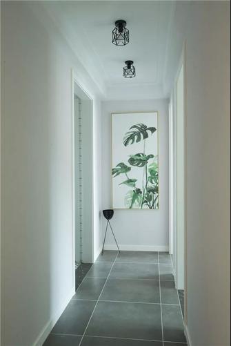 富裕型100平米三室一厅混搭风格走廊欣赏图