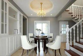 120平米三室一厅轻奢风格餐厅图片