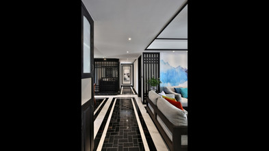 3万以下40平米小户型新古典风格客厅图片