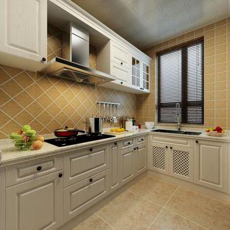 90平米田园风格厨房欣赏图