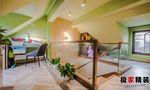 20万以上120平米三室一厅现代简约风格阁楼设计图