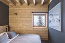 富裕型120平米复式田园风格卧室效果图