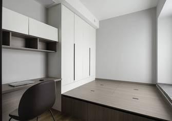 3-5万130平米三室三厅现代简约风格书房图片大全