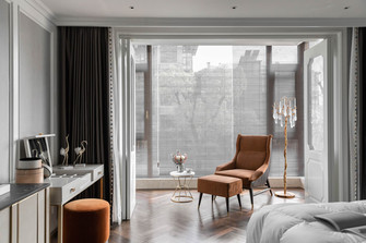 140平米别墅欧式风格梳妆台装修案例