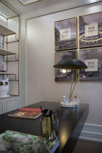 140平米四室两厅法式风格书房装修图片大全