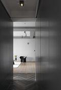 20万以上110平米美式风格走廊设计图