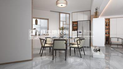 富裕型120平米三室一厅日式风格餐厅图片大全