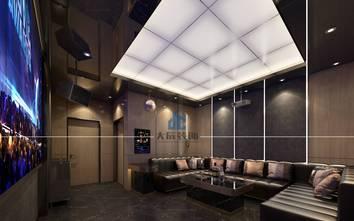 豪华型140平米四室两厅混搭风格影音室装修效果图
