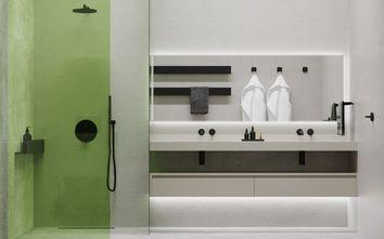 豪华型130平米三室两厅现代简约风格卫生间图片