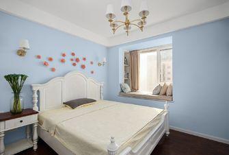 富裕型70平米美式风格卧室图片大全
