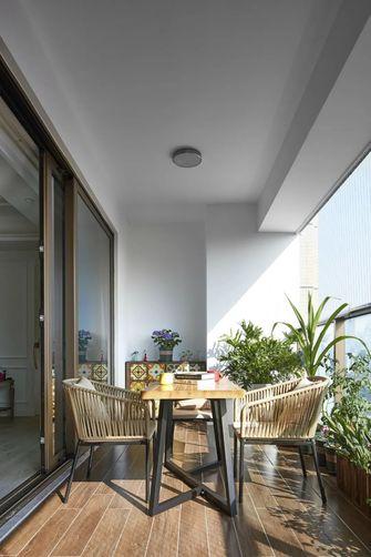 20万以上140平米四室一厅美式风格阳台图片大全