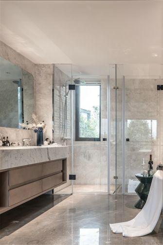 豪华型140平米别墅现代简约风格卫生间装修图片大全