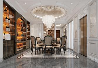 20万以上140平米别墅新古典风格餐厅图