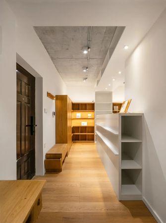 经济型60平米一室一厅日式风格玄关设计图