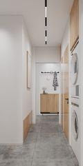豪华型50平米日式风格走廊效果图
