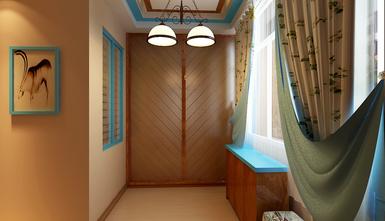 富裕型120平米三室一厅地中海风格走廊装修效果图
