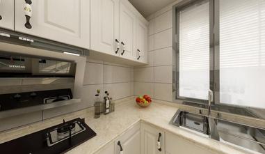 140平米三室一厅欧式风格厨房装修图片大全