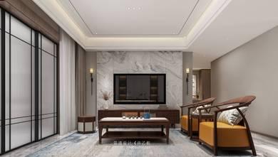豪华型140平米三室三厅中式风格客厅装修案例