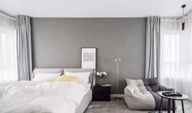 富裕型110平米三室一厅北欧风格卧室装修图片大全