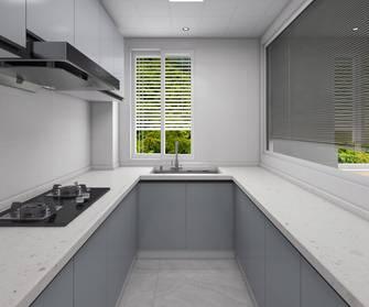 80平米三室一厅现代简约风格厨房装修效果图