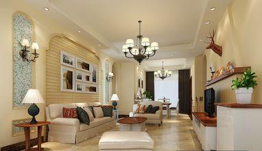 20万以上140平米四田园风格客厅图片