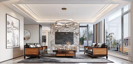 20万以上140平米别墅中式风格客厅图片