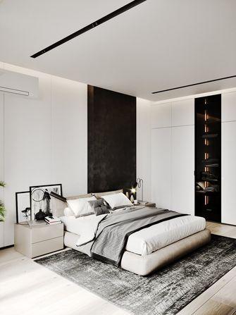 富裕型100平米三室两厅现代简约风格卧室装修图片大全