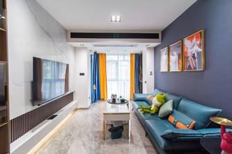 15-20万90平米公寓轻奢风格客厅装修效果图