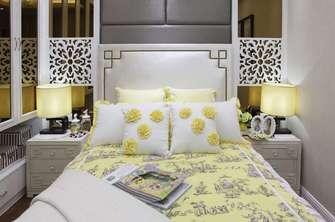 110平米三东南亚风格卧室装修案例