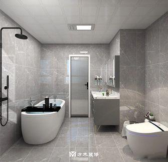 经济型80平米三室两厅现代简约风格卫生间设计图