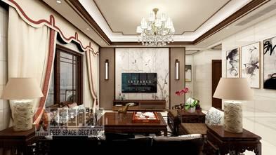 经济型120平米三室两厅中式风格客厅装修案例