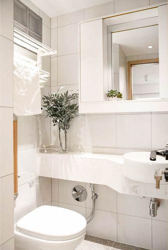 富裕型70平米日式风格卫生间装修案例