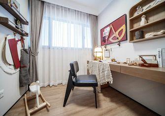 130平米四室两厅日式风格书房图片