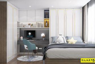 经济型90平米四室两厅北欧风格卧室效果图