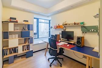 富裕型100平米北欧风格书房装修效果图