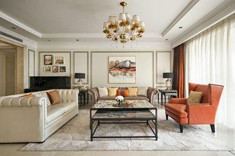 豪华型140平米四室一厅法式风格客厅装修图片大全