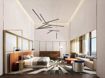 豪华型140平米别墅港式风格客厅图